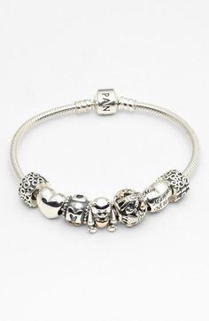 PANDORA Bracelet & Charms available at www.bijoux-et-charms.fr