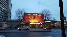 Cinema house Zoo Palast - preparation for the Berlinale