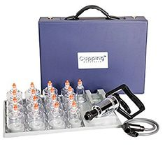 Cupping Warehouse MMT 17 Cup Plastic Professional Cupping Therapy Set w/Pump Gun and Extension Tube: Amazon.ca: Health & Personal Care