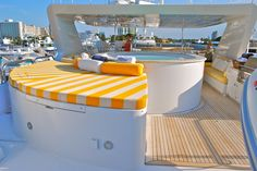 Motor Yacht named I LOVE THIS BOAT - on deck in Fort Lauderdale