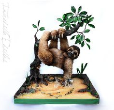 26 Best Sloth Cakes images in 2017 | Sloth cakes, Cake ...