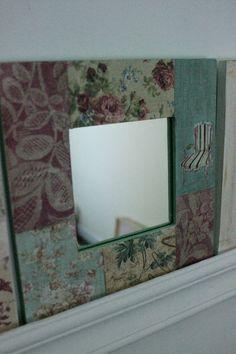 espejos decorados molduras decoradas cuadro espejos reciclados tienda pato pintura decorativa compras reciclar