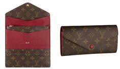 My new Louis Vuitton Josephine Wallet in red ♥ love love love it!