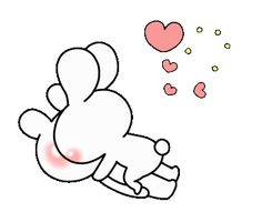 LINE Official Stickers - every day love UsakKuma 10 Example with GIF Animation Love You Gif, Cute Love Gif, Cute Cat Gif, Love Cartoon Couple, Cute Love Cartoons, Foto Cartoon, Cute Bear Drawings, Hug Gif, Cute Love Pictures