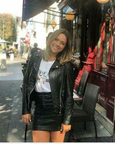 Leather Skirt, Leather Jacket, Neymar, Punk, Skirts, Jackets, Wallpaper, Style, Art