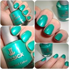 Jessica Electric Teal