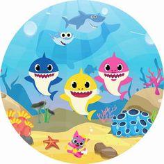 Baby Girl Born, Shark Photos, Baby Shark Doo Doo, Shark Family, Shark Gifts, Kids Gym, Shark Party, 3rd Birthday, Baby Shower Gifts