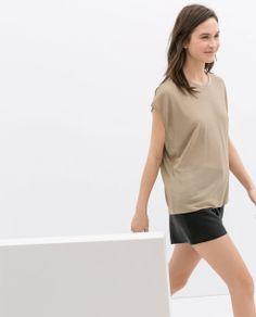 Immagine 2 di TOP COCOON di Zara