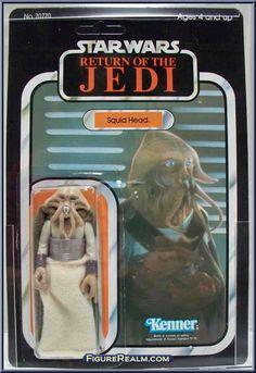 Squid Head Star Wars Toys, Tentacle, Stars, Vintage, Sterne, Vintage Comics, Star