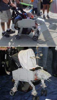 AT-AT Imperial Walker Baby Carriage