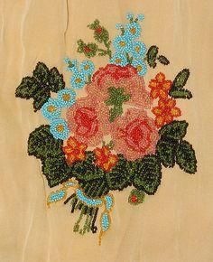 Evening dress Date: ca. 1923 Culture: French Medium: silk, glass