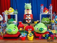 - Victoria Decoração Infantil -: Angry birds - Luan