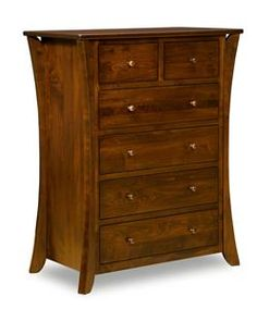 Amish Caledonia Shaker Chest of Drawers