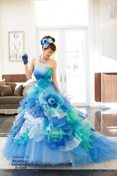 Beyond Kimono: 38 Modern Kawaii Japanese Wedding Dress Inspiration | Wedding Photography Design