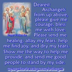 Learn about all the Archangels HERE ➡ http://www.myangelcardreadings.com/archangels Discover how they could help YOU when you are in need