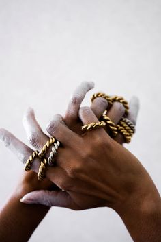 """distantvoices: """" Sadé Jewelry For Design Milk Online """" Hand Photography, Jewelry Photography, Fashion Photography, Mains Couple, Illustration Main, Foto Still, Jewelry Accessories, Jewelry Design, Gold Aesthetic"""