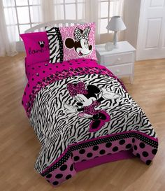 Bedroom Decor Ideas and Designs: Top Ten Minnie Mouse Themed Bedding Ideas