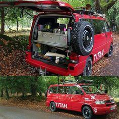 Survival camping tips T4 Camper, Build A Camper, Travel Camper, Camper Van Life, Vw T4 Syncro, Volkswagen Transporter, Van Camping, Camping World, Homemade Camper Van