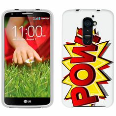 LG G2 POW! Comic Book Phone Case Cover