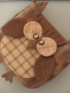 Owl cosmetics bag