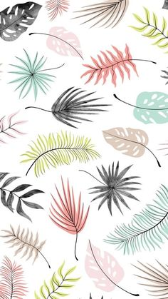 32 Ideas for wallpaper cool backgrounds pattern print Wallpaper Für Desktop, Trendy Wallpaper, Screen Wallpaper, Cute Wallpapers, Wallpaper Backgrounds, Leaves Wallpaper, Classic Wallpaper, Iphone Backgrounds, Wallpaper Quotes