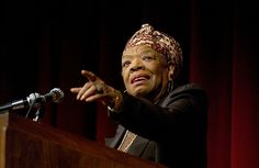 Today we remember the extraordinary poet, author and activist Maya Angelou, who has passed away at the age of 86. (photo by Peter Morenus). She spoke twice at @UConn, in 2004 and 2008.