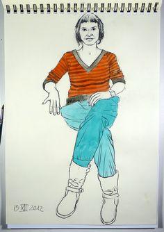 Elia Tralará. Estudiante de teatro y redactora.