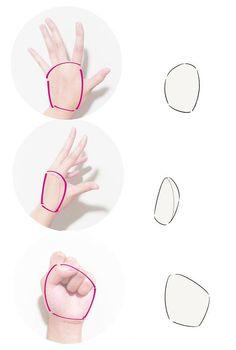 初心者の「なぜか上手く描けない」を解決!手の描き方テクニック編 | いちあっぷ