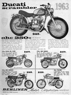 Ducati scrambler 1963