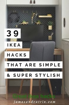 The best Ikea hack ideas we've seen. These Ikea hacks are stylish and allow you to create designer furniture cheaply. Find ideas for your Ikea hack project. Floating Shelves Diy, Diy Wall Shelves, Ikea Hacks, Diy Hacks, Ikea Furniture, Living Room Furniture, Furniture Movers, Rustic Furniture, Modern Furniture
