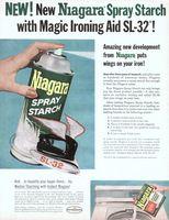 Niagara Laundry Starch 1962 Ad Picture