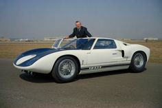 Top 100 Most Beautiful Cars of All Time: 1964 Ford GT40