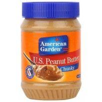 American Garden U.S. Peanut Butter Chunky, 510g