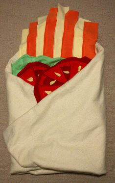 Burrito Baby Blanket by AwesomeSauceDesigns on Etsy, $50.00