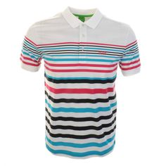 HUGO BOSS > HUGO BOSS Green Paddy 3 Polo T Shirt White > Hugo Boss T Shirts Hugo Boss Green Polo Shirts Hugo Boss Designer Clothes @ Mainline Menswear Stockists Of Hugo Boss Green T Shirts Armani Ralph Lauren Paul Smith Vivienne Westwood Lyle And Scott Lacoste G Star Diesel Original Penguin Stone Island F