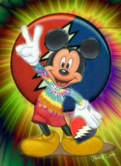 ✌☮ Peace Mickey Mouse ❤