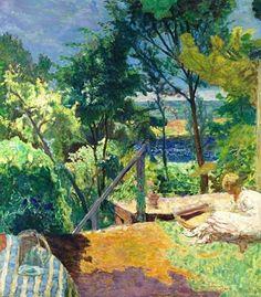 Pierre Bonnard (1867-1947) Terrasse à Vernon