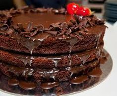 Resultado de imagen para tortas de  arte de chocolate