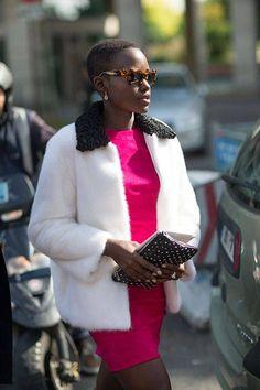 Street Style: Paris Fashion Week Spring 2014 - Celebrity Street Style