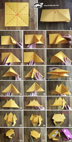 Origami crab children activities, more than 2000 coloring pages Origami Design, Origami 3d, Origami Star Box, Origami Dragon, Origami Fish, Origami Folding, Paper Crafts Origami, Modular Origami, Origami Flowers