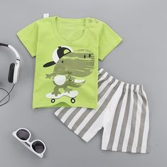 1 2 3 45 Years Boys Suits summer Cartoon Short Sleeve Boys Clothes T-shirts +Shorts Children Clothing Set Cotton Kids Outfit Baby Boy Suit, Baby Boy Tops, Baby Girls, Baby Boy Clothing Sets, Kids Clothes Boys, Kids Clothing, Baby Outfits Newborn, Baby Boy Outfits, Kids Outfits