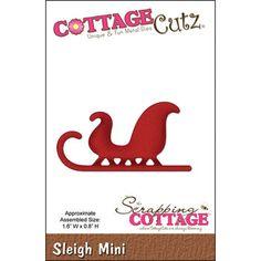 CottageCutz Mini Die Sleigh