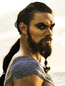 Khal Drogo. Hubba hubba.