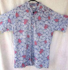 Muted pattern Hawaiian shirt by HAWAIIAN IVY