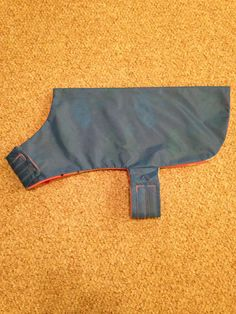 Medium Blue Dog Rain Coat with Cute Pink by 4LicksNWiggles on Etsy