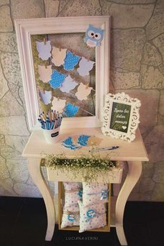 Owls Baby Shower Party Ideas   Photo 8 of 17   Catch My Party