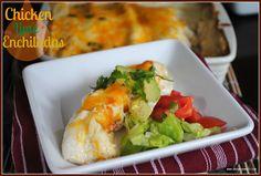 Shugary Sweets: Chicken Lime Enchiladas