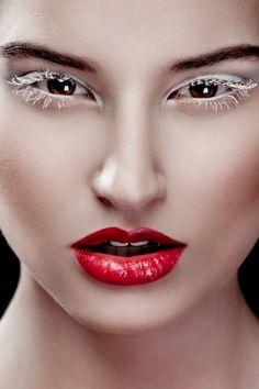 white eyelashes - Google Search