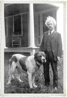The more I learn about people, the more I like my dog.  Mark Twain i-find-this-humerus