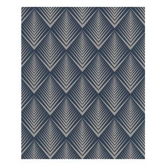 Soprano: Dark Blue wallpaper ($75) ❤ liked on Polyvore featuring home, home decor, wallpaper, backgrounds, navy blue home accessories, modern geometric wallpaper, dark blue wallpaper, navy home decor and modern home decor